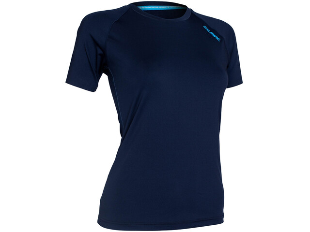Salming Sandviken SS Shirt Women, blauw